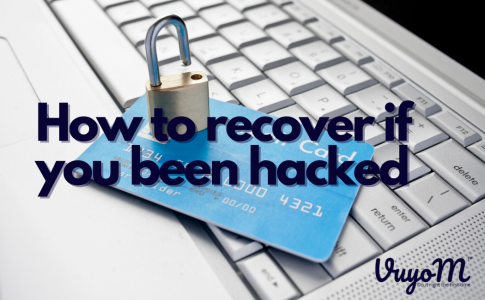 How to recover if you have been hacked